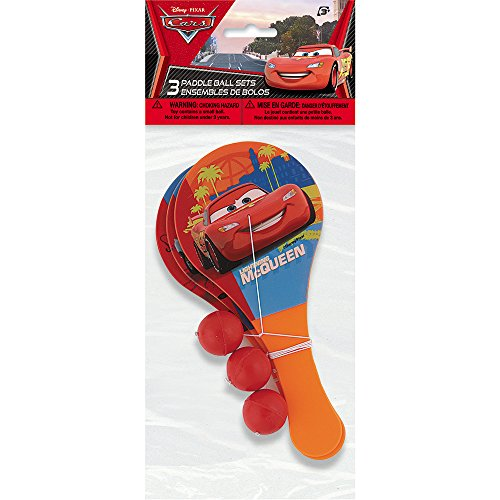 Disney Cars Paddle Party Favors