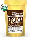 Organic Raw Cacao Powder - Best Dark Chocolate Taste - Pure Natural Unsweetened Cocoa 1lb/ 16oz offers