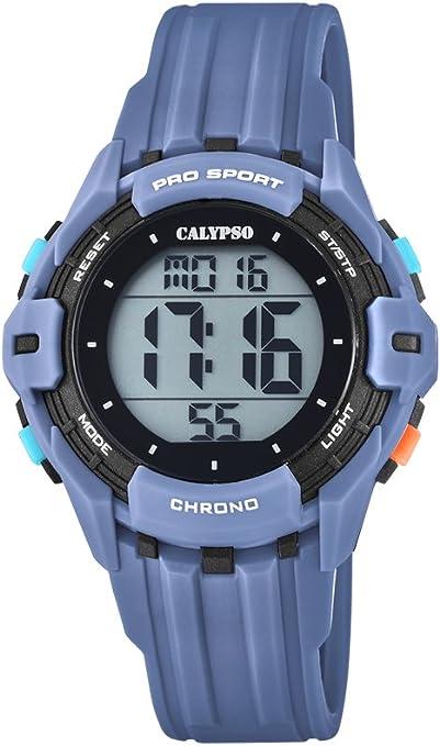 Calypso Reloj Digital para Hombre de Cuarzo con Correa en Plástico K5740/1