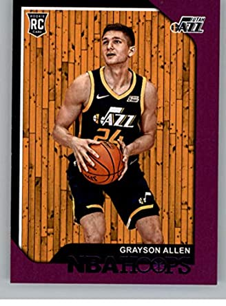 best value 943f1 c135d Amazon.com: 2018-19 NBA Hoops Purple #247 Grayson Allen Utah ...