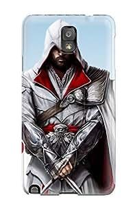 Premium Durable Ezio Auditore Fashion Tpu Galaxy Note 3 Protective Case Cover