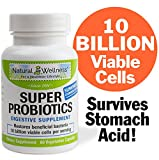 Super Probiotics has 5 billion living cells per capsule. This makes it a very powerful and high-potency formula. Super Probiotics helps to quickly restore healthy levels of beneficial bacteria in the stomach and intestines. It can effectively allevia...