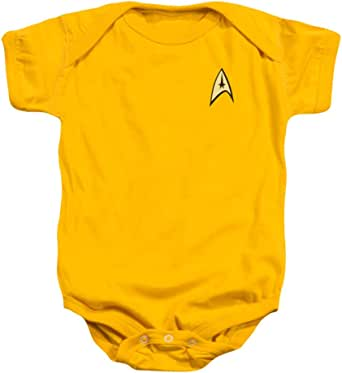 Infant -Star Trek- Command Uniform,Gold,6 Months