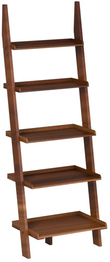 Convenience Concepts American Heritage Bookshelf Ladder, Cherry