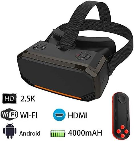オールインワンVRヘッドセットの3DスマートメガネバーチャルリアリティゴーグルVRヘルメット2KコントローラとWIFI HDMIビデオで