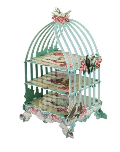 Talking Tables Birdcage 3-Tier Patisserie Cake Stand Home Supply Maintenance Store