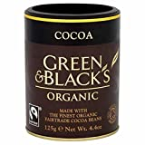 Green & Black's Green & Blacks Organic Cocoa Powder 125G (Pack Of 7 )