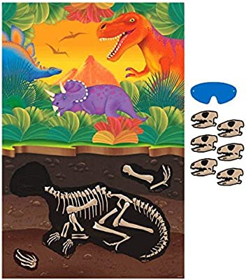 amscan - Juego de Mesa Dinosaurios International 399768 (Importado): Amazon.es: Hogar