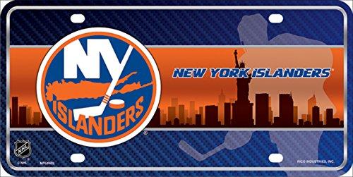 (Smart Blonde New York Islanders Metal Novelty License Plate)