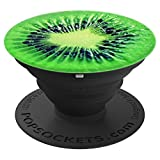Pretty Green Kiwi Fruit Seeds - Vegan Fruit - PopSockets Grip and Stand for Phones and Tablets