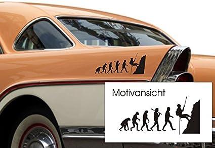 Para el coche-de pegatinas, diseño de evolución de escalada ...