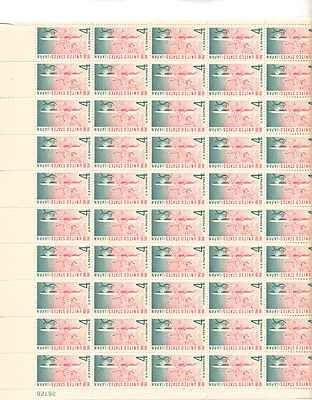 US And Japan/Cherry Blossoms Sheet of 50 x 4 Cent Stamps Scott (Cent Cherry)