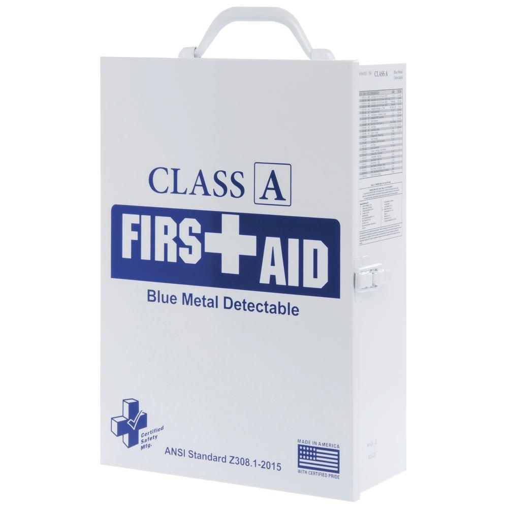 75V - Class A Blue Metal Detectable - 3 Shelf Cabinet K616-035 RESTAURANTS - FOOD INDUSTRY
