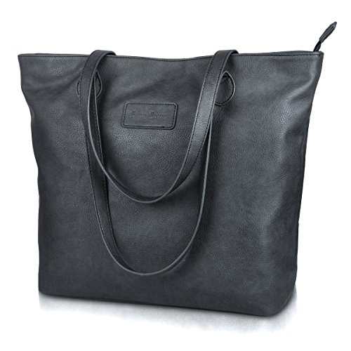 Purse Handbag for Women,Sunny Snowy Shoulder Tote Bag,Work School Tote Handbags (8014-darkgray)