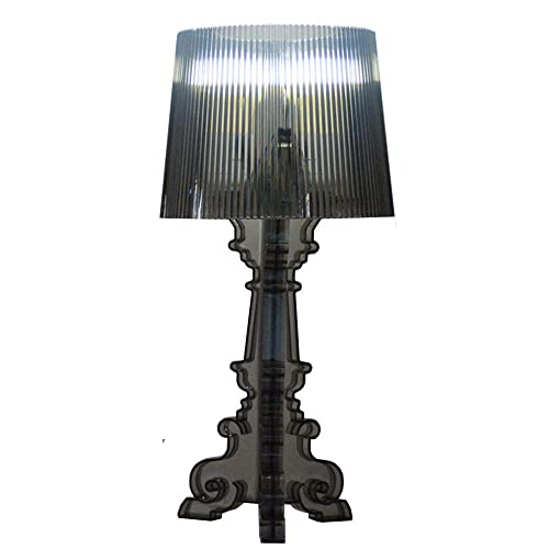 Crystal Clear Bedroom Table lights Kartell Bourgie Ghost Contemporary READING Table Lamp Study Room Desk lights Black