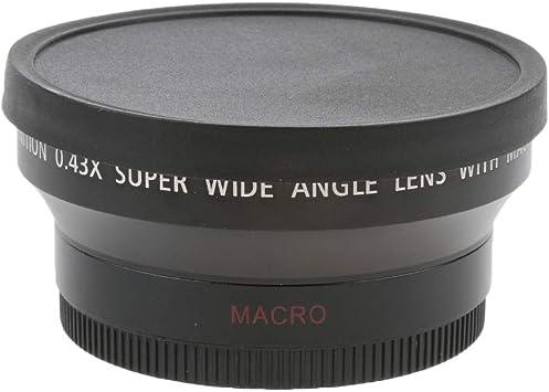 D DOLITY Lente Gran Angular Y Macro De 67 Mm 0.45x para Canon ...