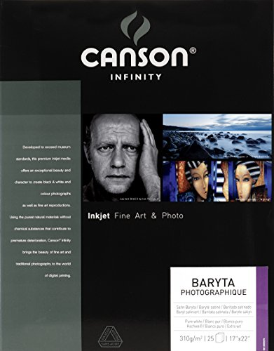 "Canson Infinity Baryta Photographique Fine Art Paper, 17""X22"""