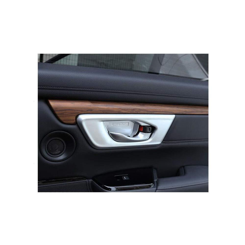2018 YP Chrom matt ABS Innent/ürgriff Schalenabdeckung f/ür Honda CRV 2017