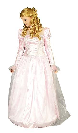 Rosa Prinzessin Kostüm Damen Gr. 36 38: Amazon.de: Spielzeug