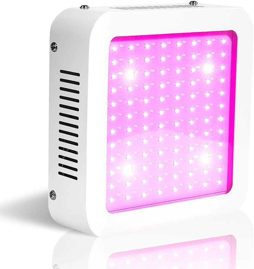 600W LED Grow Light for Indoor Plants,Green House Lights,Full Spectrum Grow Lamp for Veg and Flower Actual Power Consumption 100W