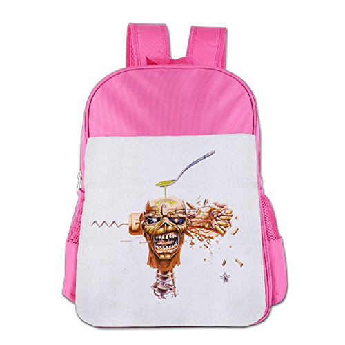 Buy cheap custom iron maiden children school bag backpack for years old pink