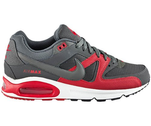 Nike NIKE AIR MAX COMMAND Caña baja de cuero hombre color gris