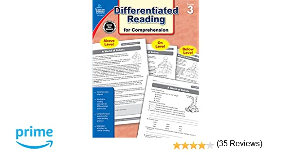 Amazon.com: Differentiated Reading for Comprehension, Grade 3 ...