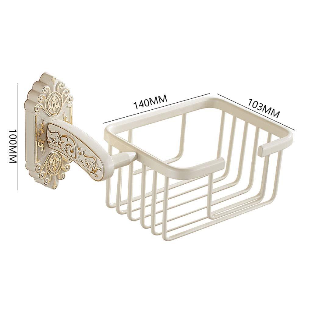 LXFMD Toalla de Papel Europea Toalla de Papel Titular de de de Papel Dorado Tallado Blanco Rollo de Pintura Tubo de Papel Estante bantilde;o Estante Titular de Papel higieacute;nico (Color : Blanco) eca2e7