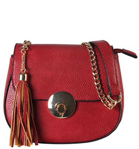 diophy-pu-leather-saddle-style-mini-cross-body-womens-purse-handbag-accented-with-tassels-decor-chai