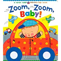 Zoom, Zoom, Baby!: A Karen Katz Lift-the-Flap Book (Karen Katz Lift-the-Flap Books)