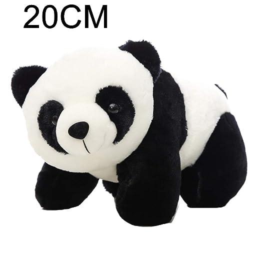 Kuizhiren1 Muñeca de peluche de peluche, lindo oso panda de ...