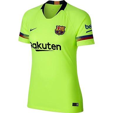 f7a91bcef Amazon.com  NIKE 2018-2019 Barcelona Away Ladies Shirt  Clothing