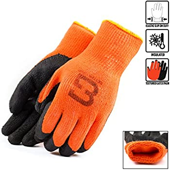 Better Grip Bgwlac Winter Insulated Rubber Latex Coated
