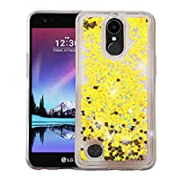 MyBat Cell Phone Case for LG V5 - Hearts & Gold Quicksand