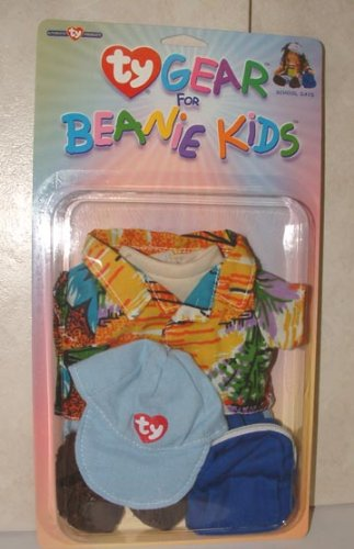 TY Gear for Beanie Kids School Days Outfit Beanie Babies Clothes