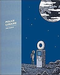 Police lunaire par Tom Gauld
