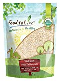 Organic Oat Bran, 8 Ounces - Non-GMO, Kosher, Raw, Vegan, Bulk, High Fiber Hot Cereal, Milled from High Protein Oats, Product of The USA Larger Image