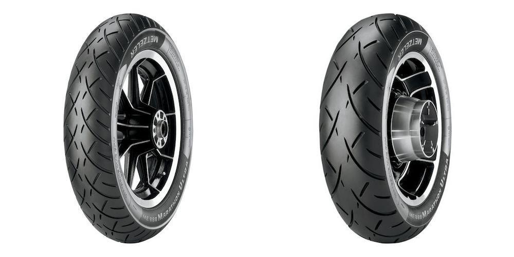 METZELER ME 888 Marathon Ultra Front & Rear Tire Set, 90/90-21 54H & 240/40R18 (79V)