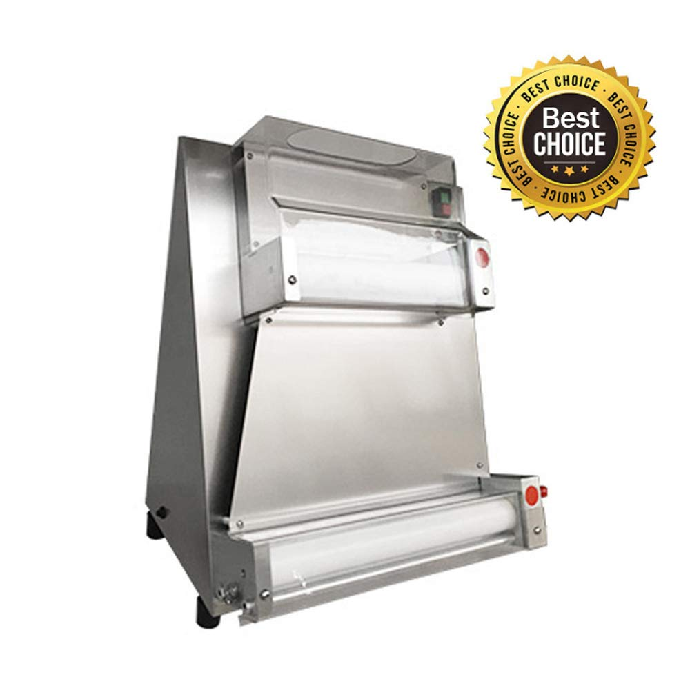 Automatic Pizza Dough Roller Sheeter Machine-Pizza Making Machine,370W/110V (Shipping from US) by vinmax