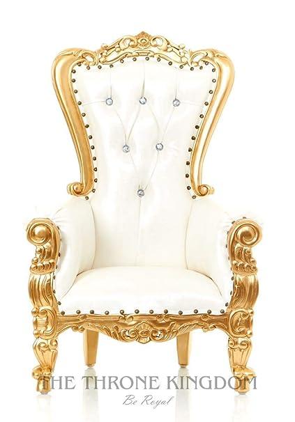 Mini Tiffany Kids Birthday Throne Chair for Children - Prince/Princess Throne Chair for Kids  sc 1 st  Amazon.com & Amazon.com: Mini Tiffany Kids Birthday Throne Chair for Children ...