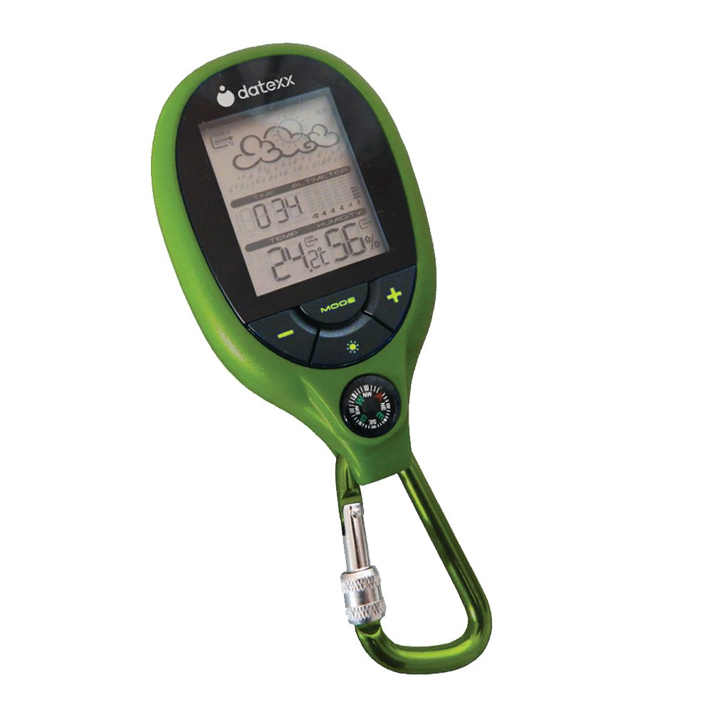 Datexx Pocket Sized Weather Station with Compass and Carabiner by Datexx