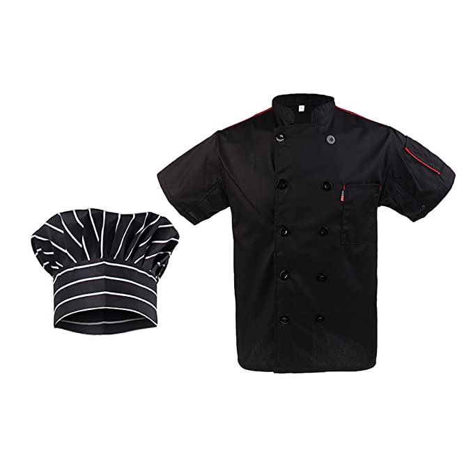 Amazon.com: Baoblaze Stylish Men Ladies Chef Hat Chef ...