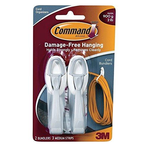 3M 17304 Cord Bundlers 2 bundlers/3 strips per pack