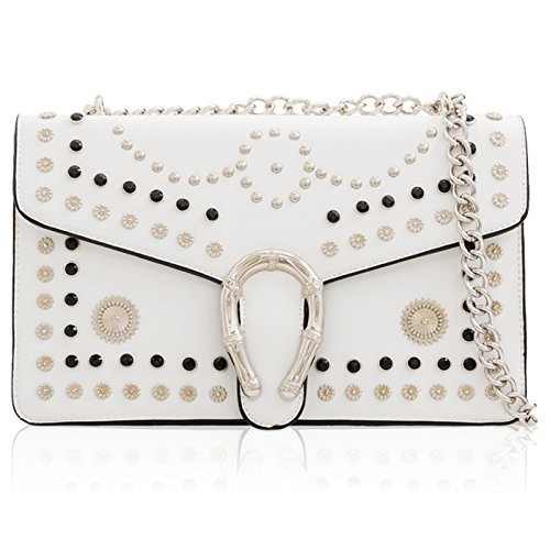 Xardi London, Borsa a secchiello donna White