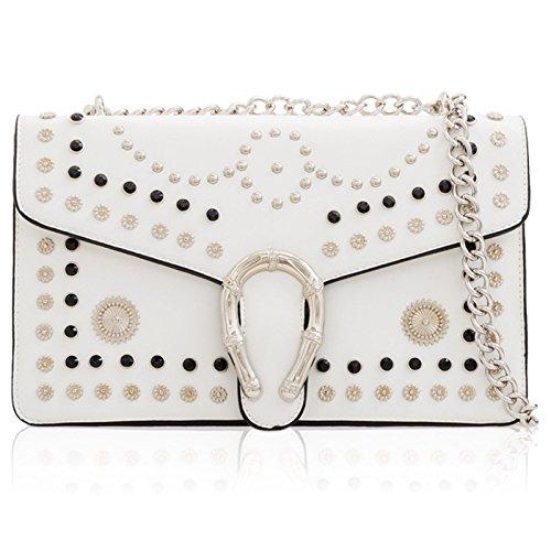 London Blanc Xardi Femme Cartable pour ZwpWdqSxzA