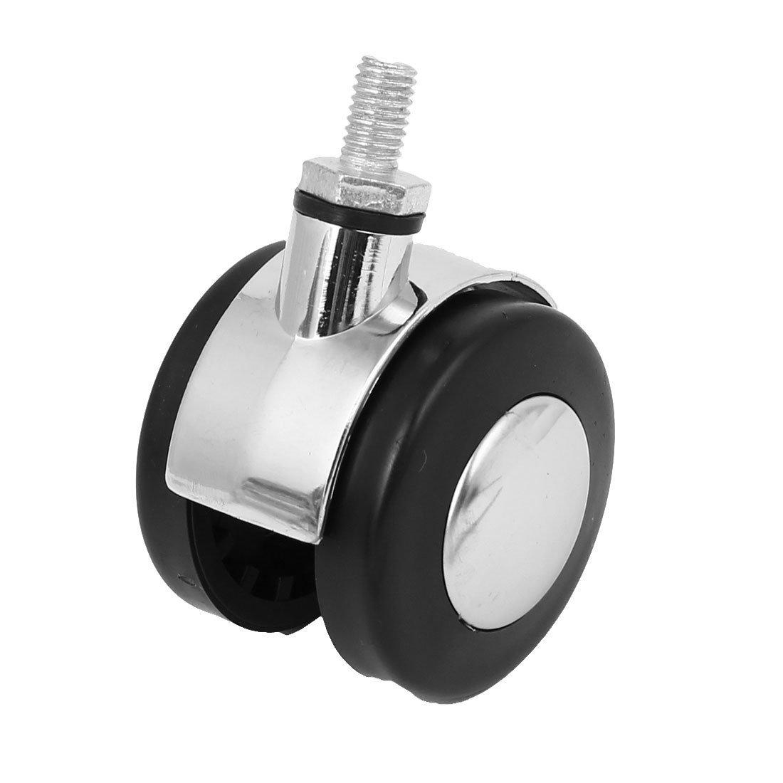 eDealMax Silla de oficina DE 2 pulgadas de diámetro roscado del vástago de Freno de rueda gemela Caster giratorio Universal: Amazon.com: Industrial & ...