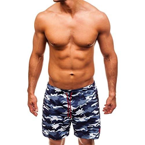 BOLF Shorts de bain – Shorts de plage – Maillot de bain – Pantalons courts – Natation – Homme [7G7]