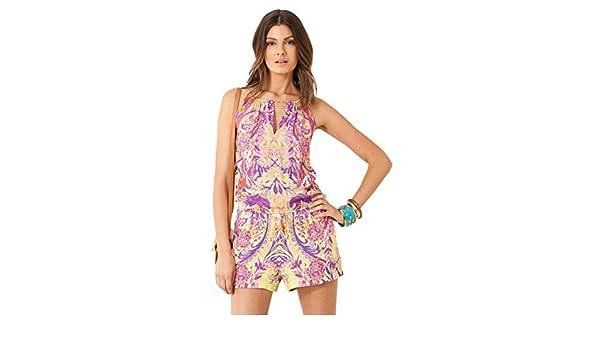 2eda9a52cba0 Amazon.com  Geri Halter Romper  Clothing