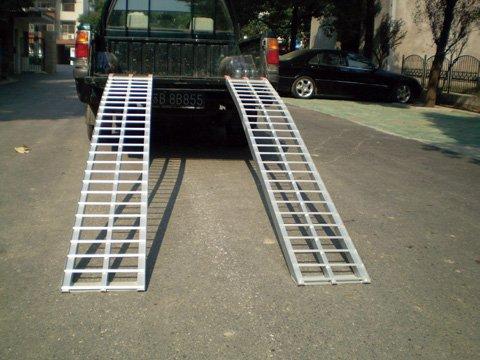 Arched Ramp, Aluminum 88'' X 12'' 1000#