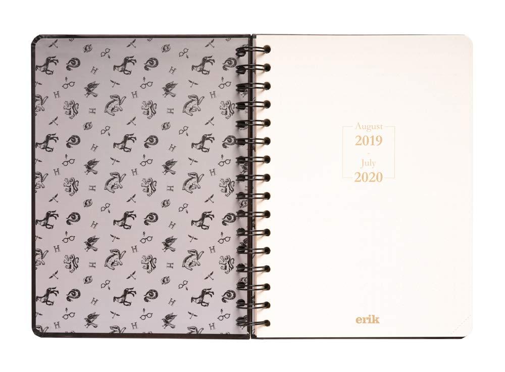Agenda escolar 2019/2020 A5 12 meses Semana Vista Harry Potter